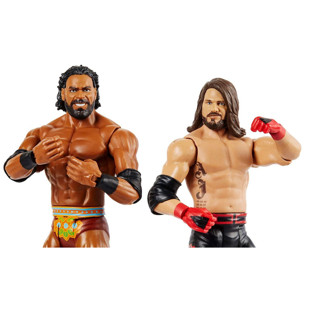 WWE GBN60 Battle Pack AJ Styles vs Jinder Mahal - Maqio