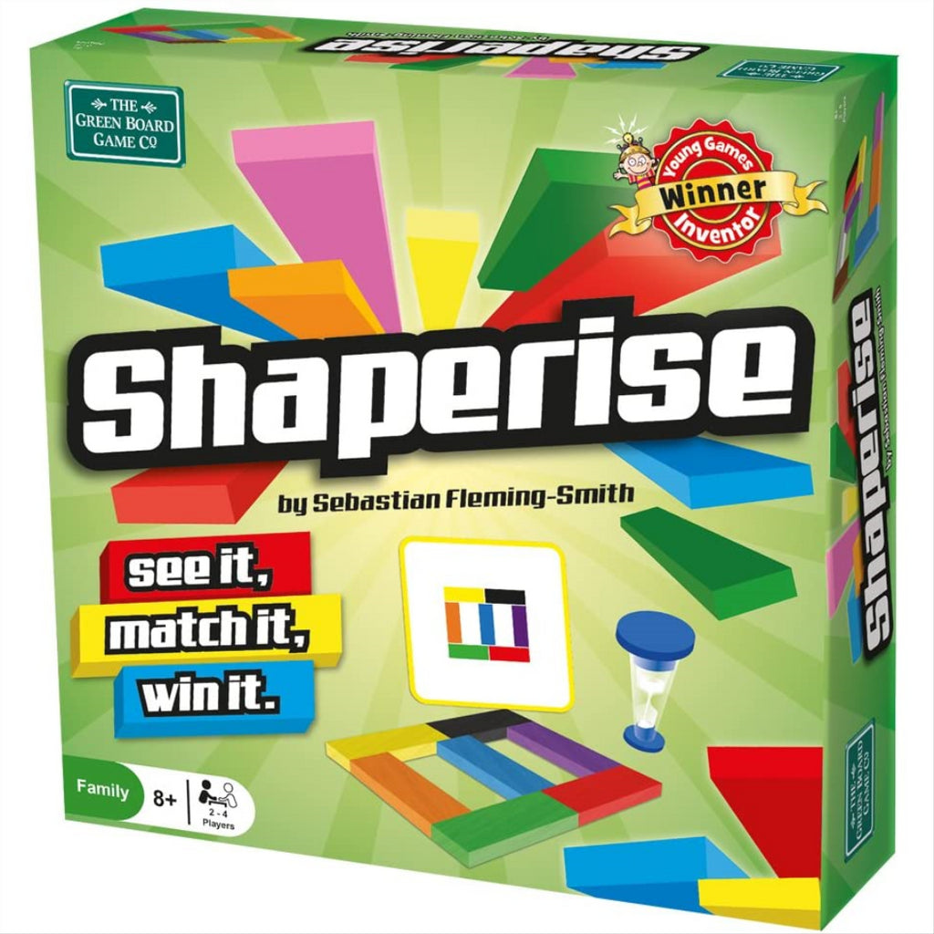Shaperise by the Green Board Game Company 10018 - Maqio