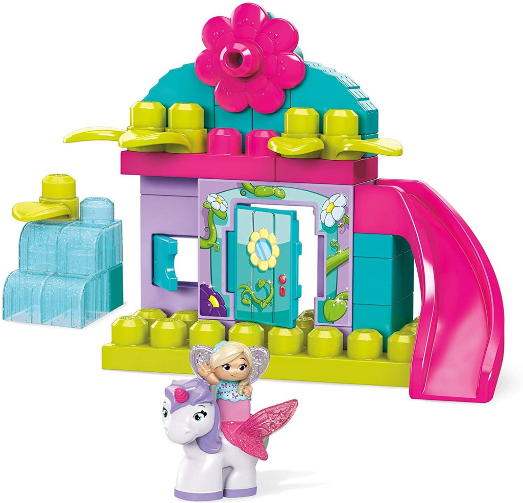 Mega Bloks First Builders Lil' Fairies Enchanted Cottage GKX80 - Maqio