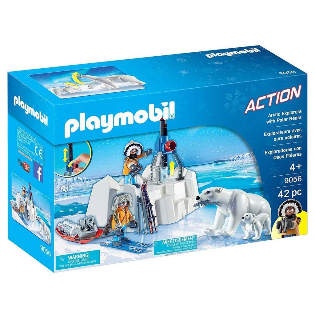 Playmobil 9056 Arctic Explorers with Polar Bears - Maqio