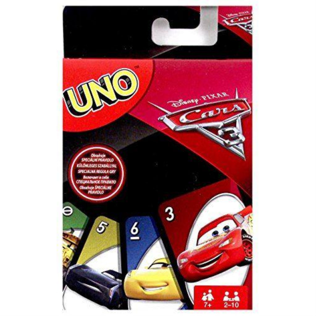 Mattel FDJ15 UNO Cars 3 Game - Maqio