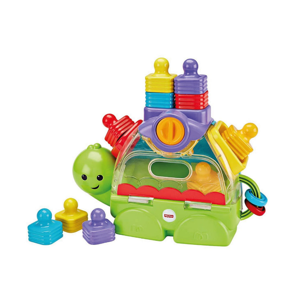 Fisher-Price Little Stackers Sort 'n Spill Turtle by Fisher-Price - Maqio