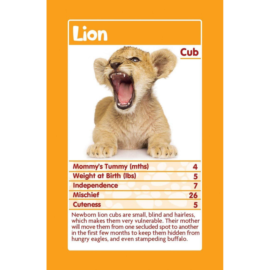 Top Trumps  Cards - Baby Animals (18) - Maqio