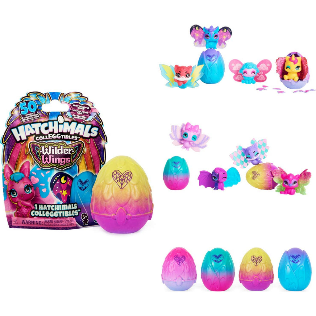 Hatchimals CollEGGtibles Wilder Wings 1 Pack Blind Bag - Maqio