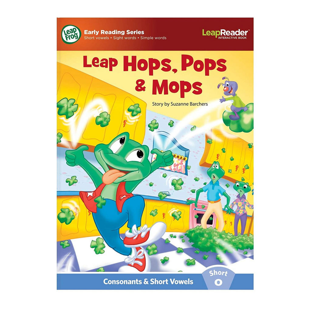 LeapFrog LeapReader Learn to Read Phonics Book Set 1: Short Vowels (Works with T - Maqio
