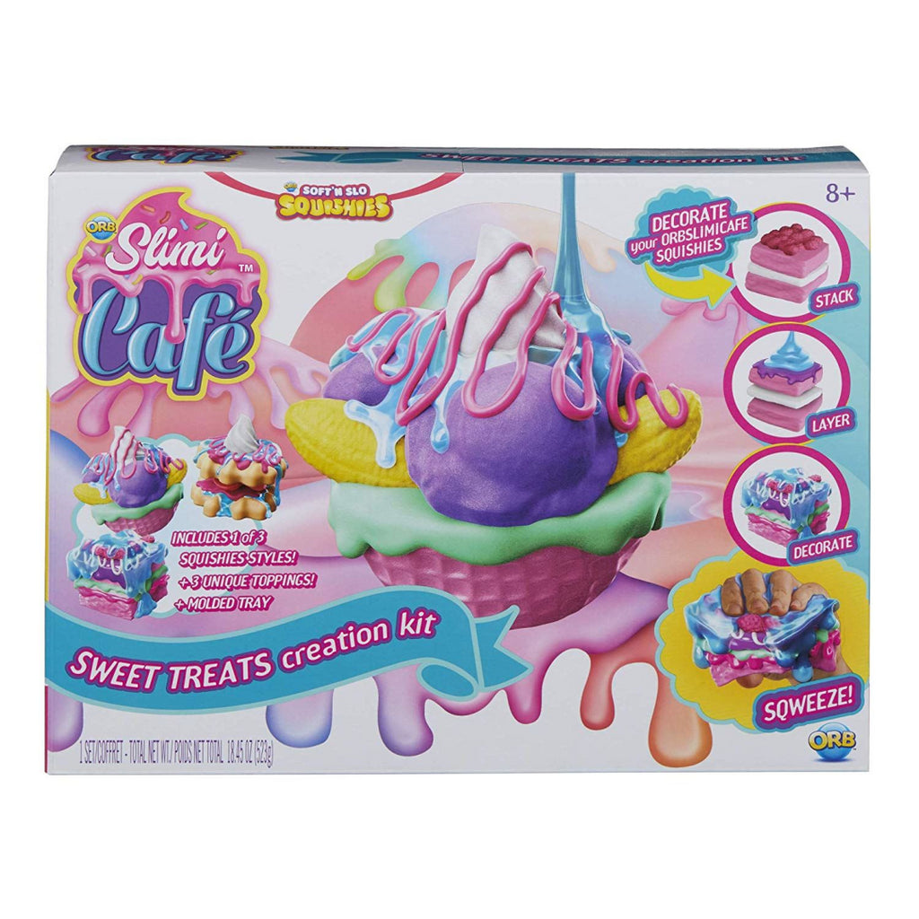 Odditeez 128371 SLIMI CAFÉ Sweet Treats Creator Kit - Maqio