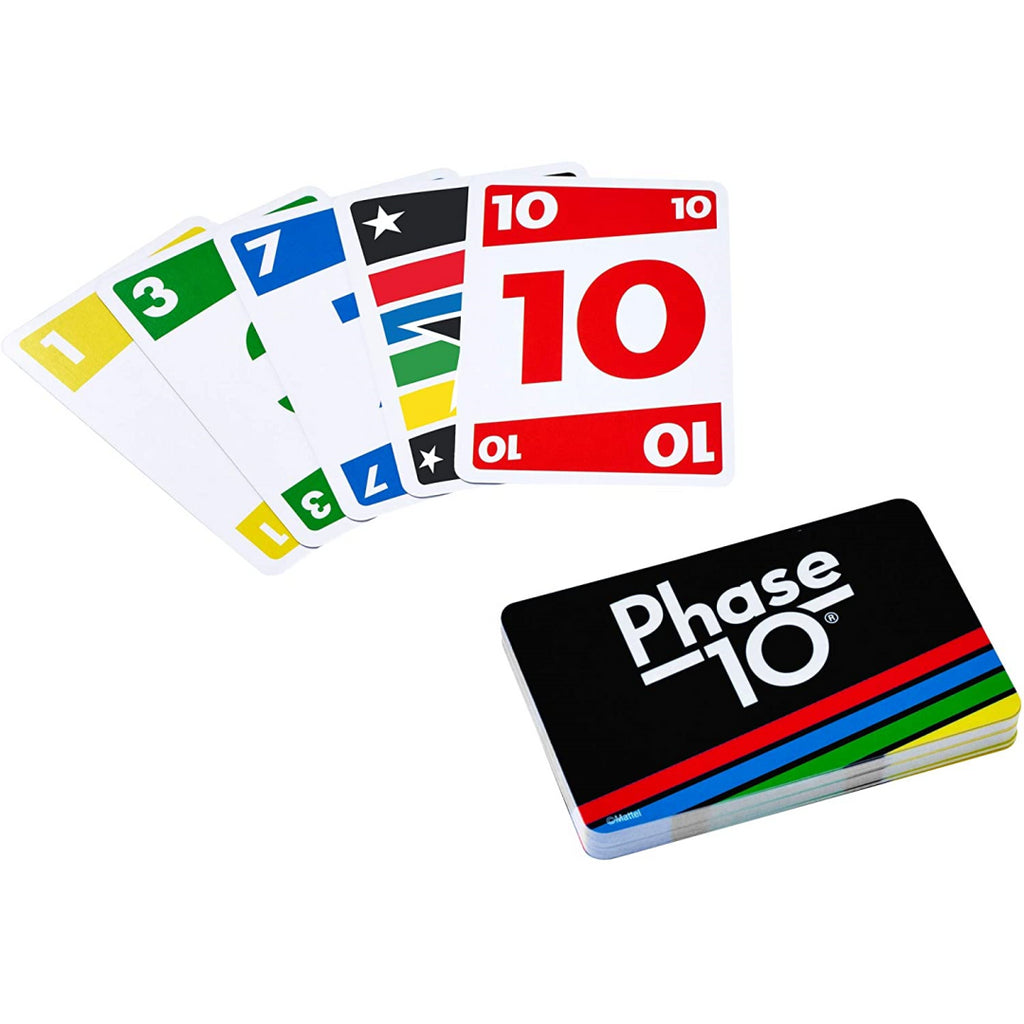 Mattel PHASE 10 Card Game FFY05 - Maqio
