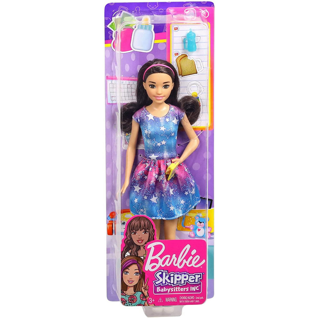 Barbie Skipper Babysitters INC Doll and Accessories FXG93 - Maqio