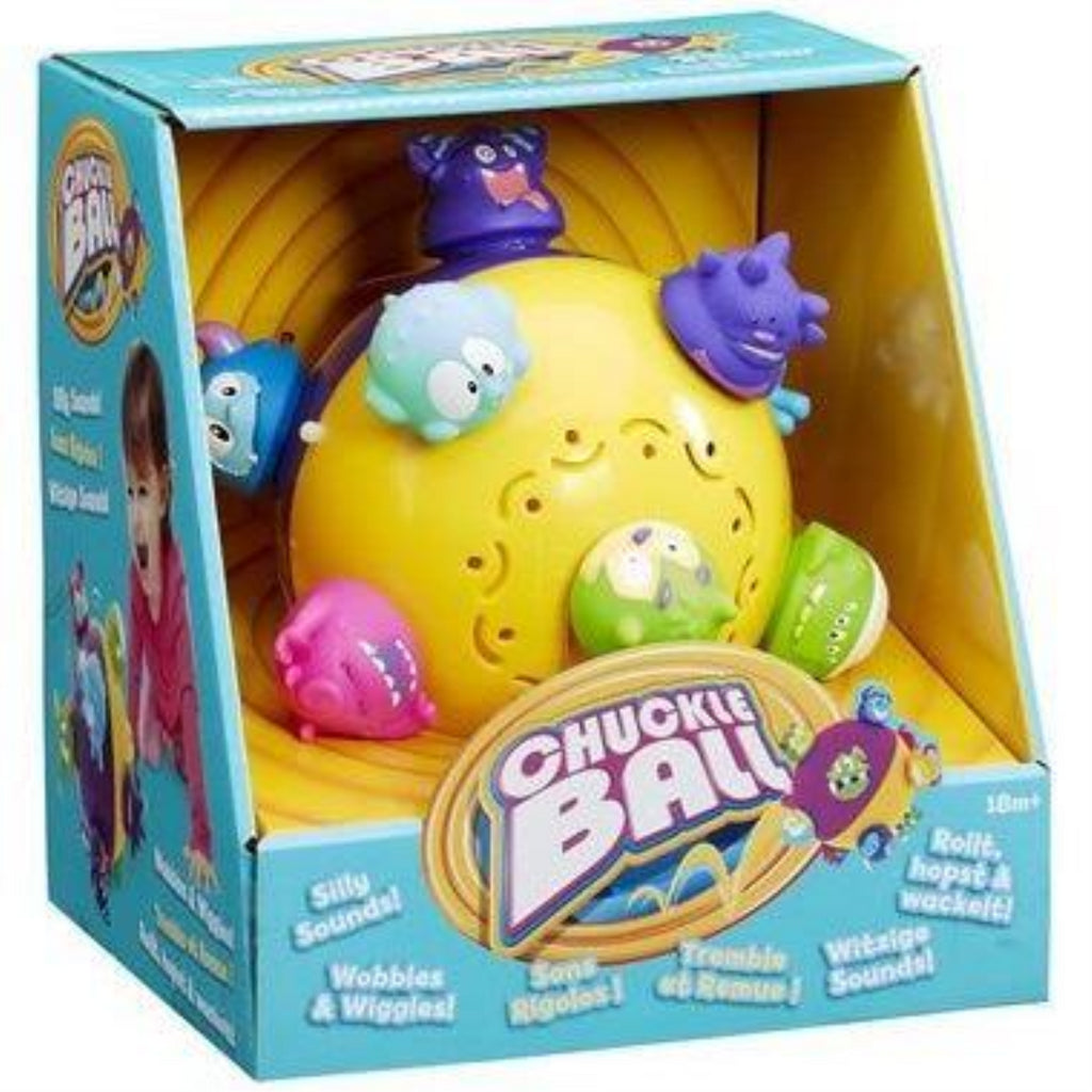 Vivid Imaginations Chuckle Ball Toddler Interactive Toy - Maqio