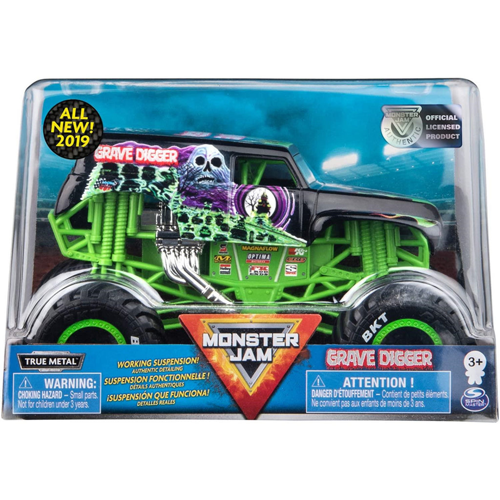 Monster Jam Die-cast Grave Digger Monster Truck - Maqio
