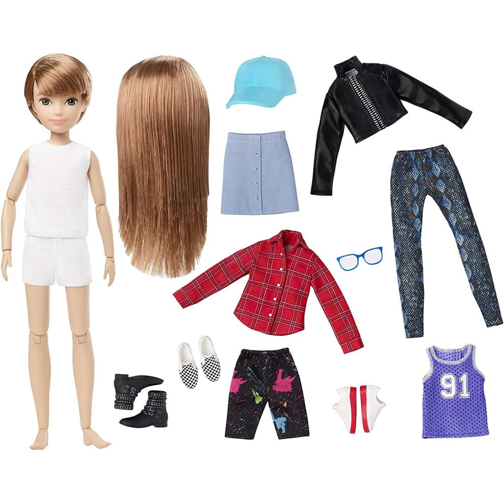 CREATABLE WORLD Deluxe Character Kit Customisable Doll GGG53 - Maqio