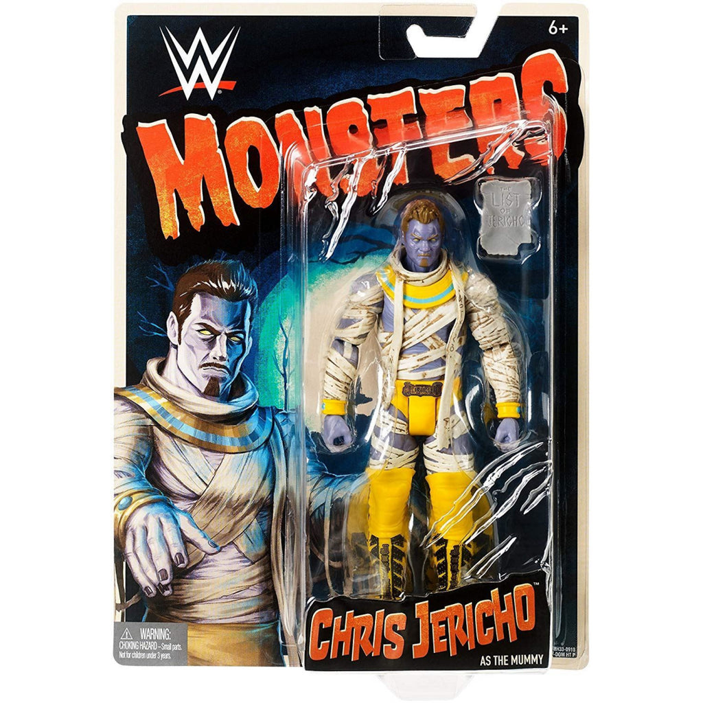 WWE FMH33 Chris Jericho Monsters Figurine, Boys, Multi-Colour - Maqio
