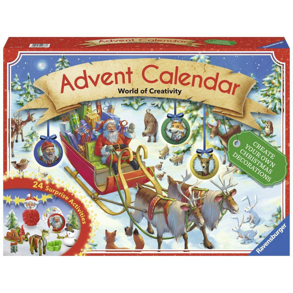 Ravensburger Christmas Advent Calendar World of Creativity - Maqio
