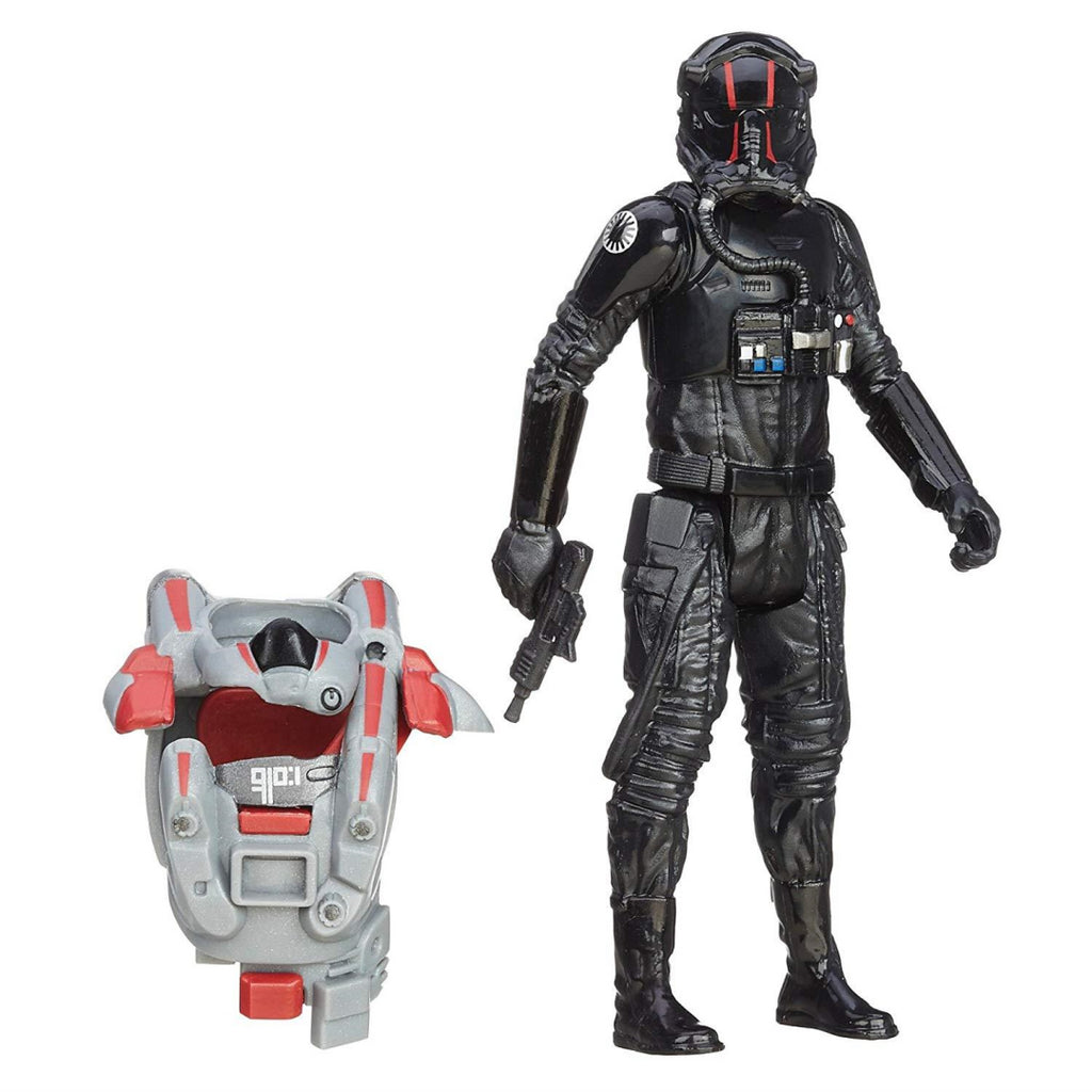 Star Wars The Force Awakens Armour Up 9cm TIE Fighter Pilot Elite Figure - Maqio