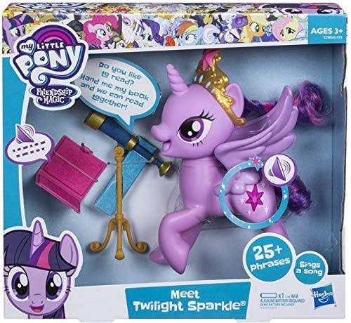 My Little Pony Meet Twilight Sparkle Talking Electronic Figure E2585 - Maqio