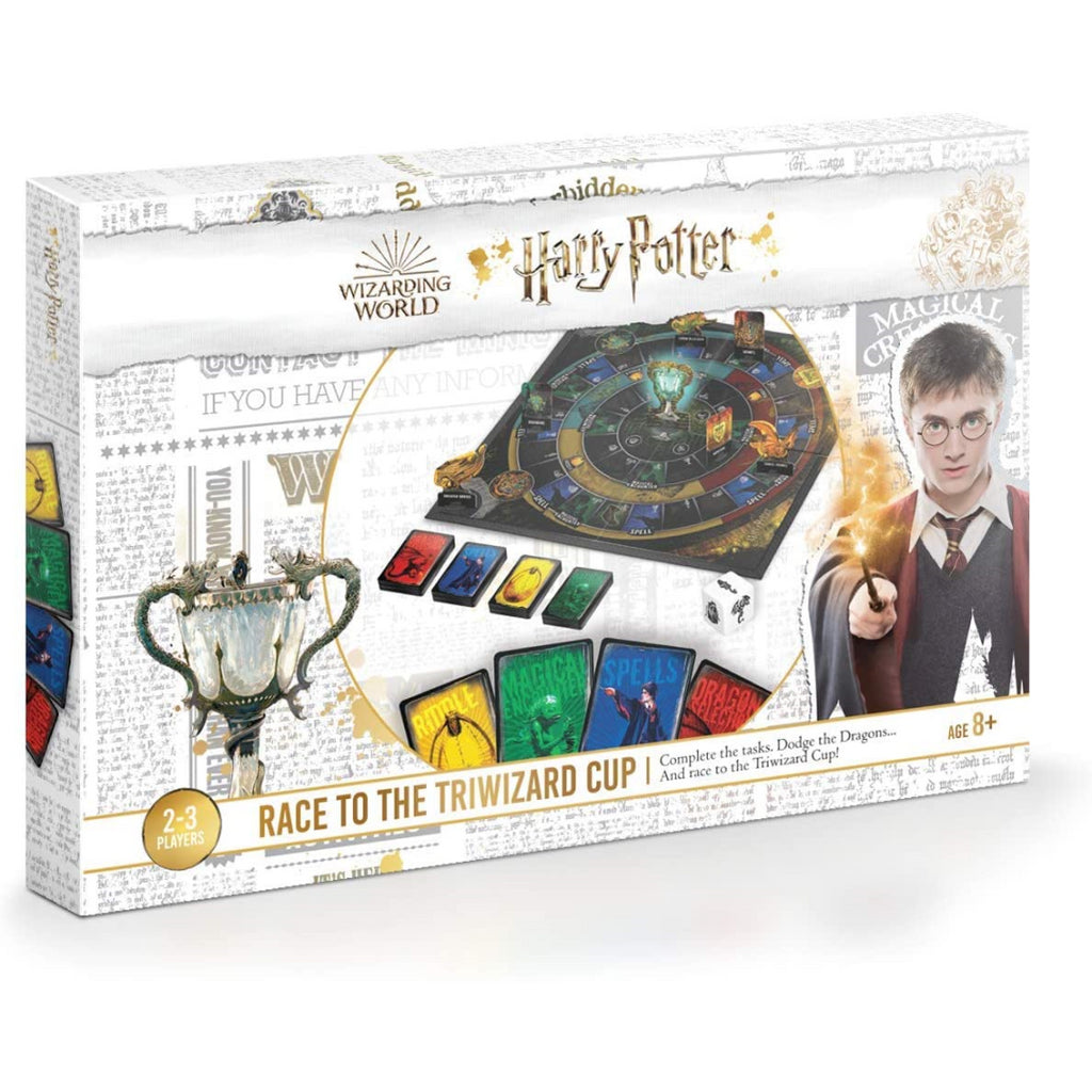 Harry Potter Race to the Triwizard Cup Board Game 130011208 - Maqio