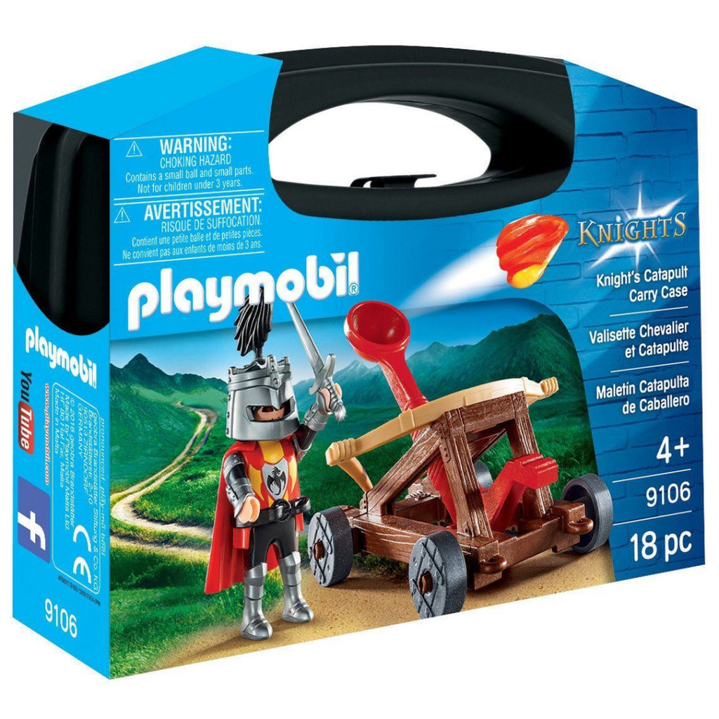 Playmobil 9106 Briefcase Knight Catapult - Maqio