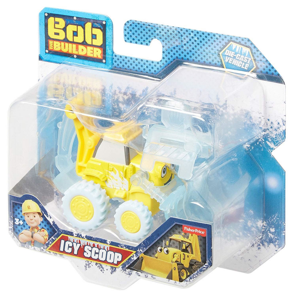 Fisher Price Bob The Builder Fuel Up Friends Icy Scoop Vehicle - Maqio