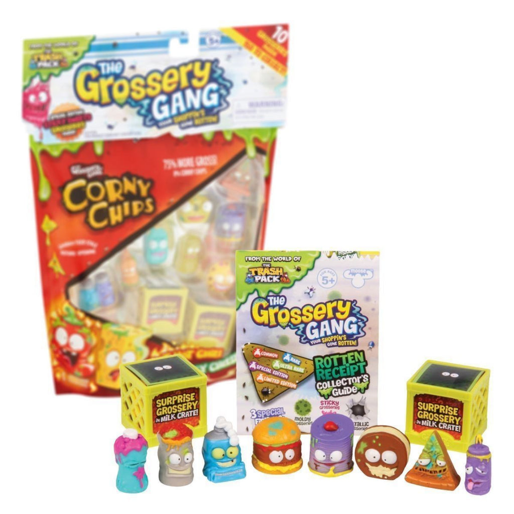 Grossery Gang Series 1 Figures - Pack of 10 (69003) - Maqio