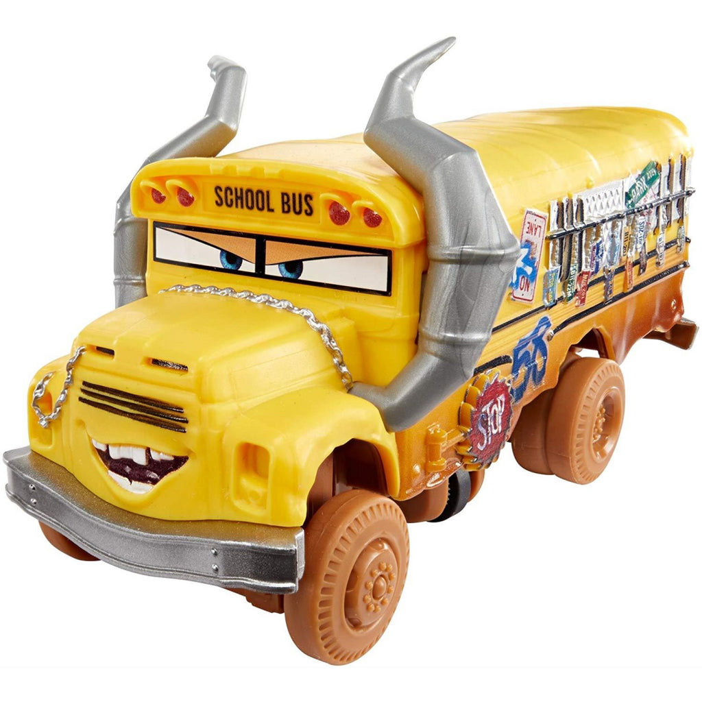 Disney Cars 3 Crazy 8 Crashers Miss Fritter Vehicle DYB21 - Maqio