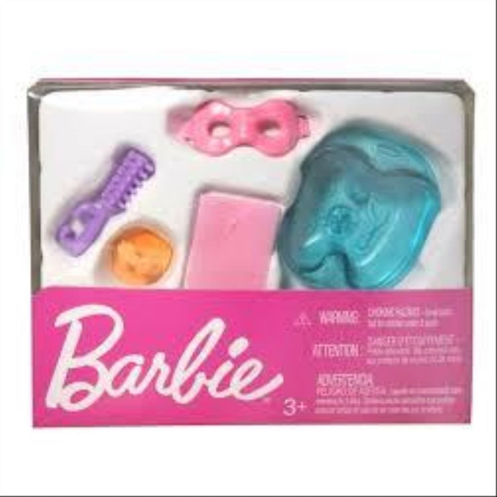 Mattel Barbie FJD56 Small Accessory Toy Pack - Set of 3 - Maqio