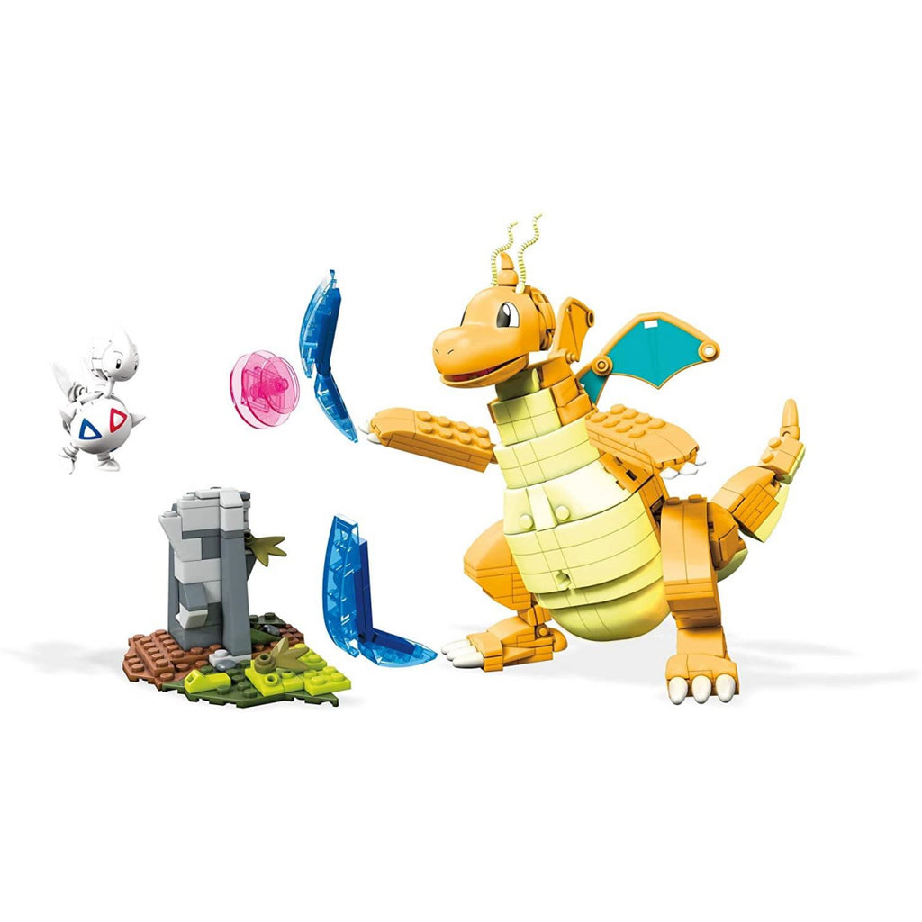 Mega Construx FVK75 Pokemon Dragonite vs Togetic Challenge - Maqio