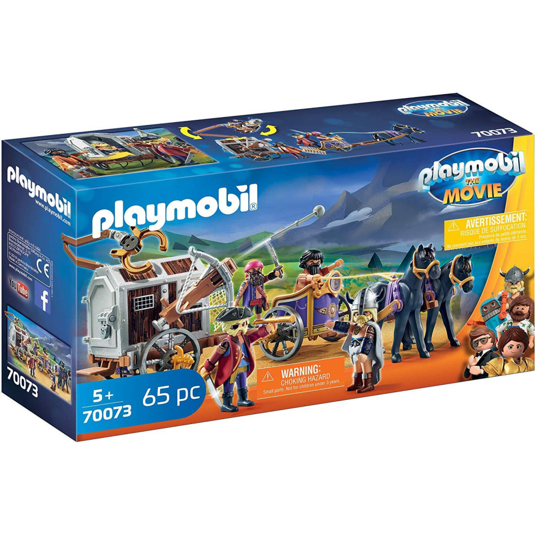 Playmobil The Movie 70073 Charlie with Prison Wagon