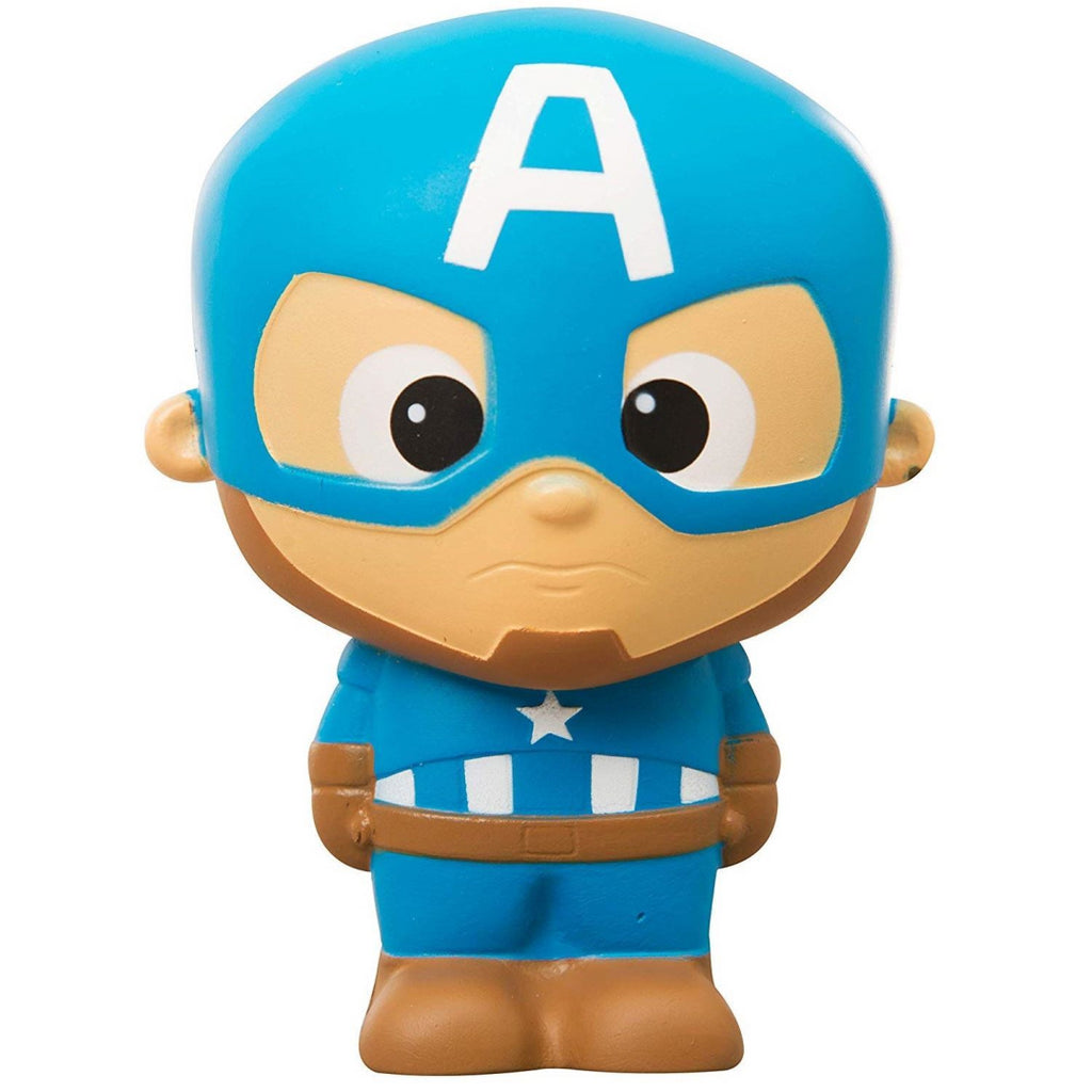 Marvel Avengers Squishy Palz Superhero Squishies Captain America Toy 5669 (DMR-3 - Maqio