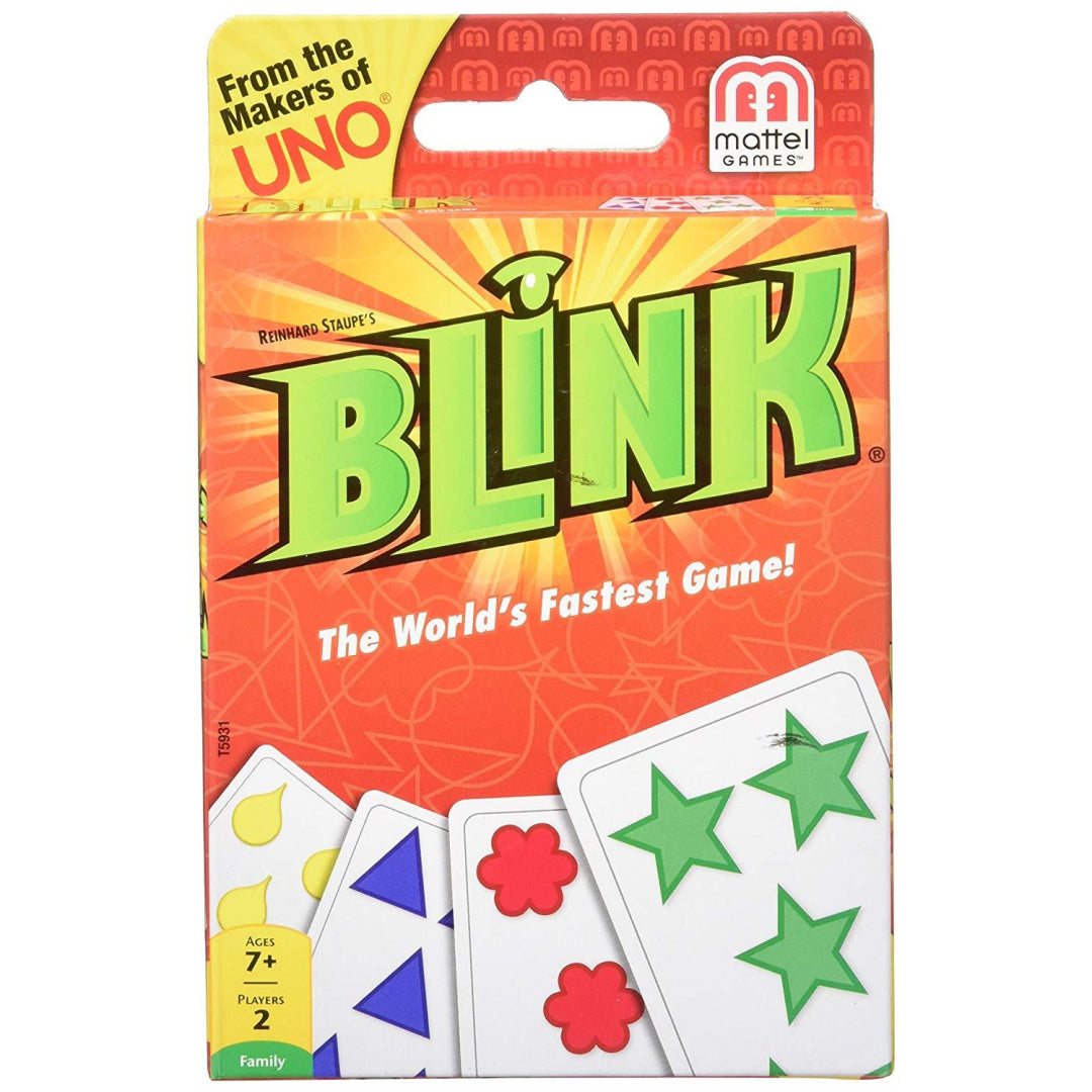 Mattel Blink Fast Paced Card Game