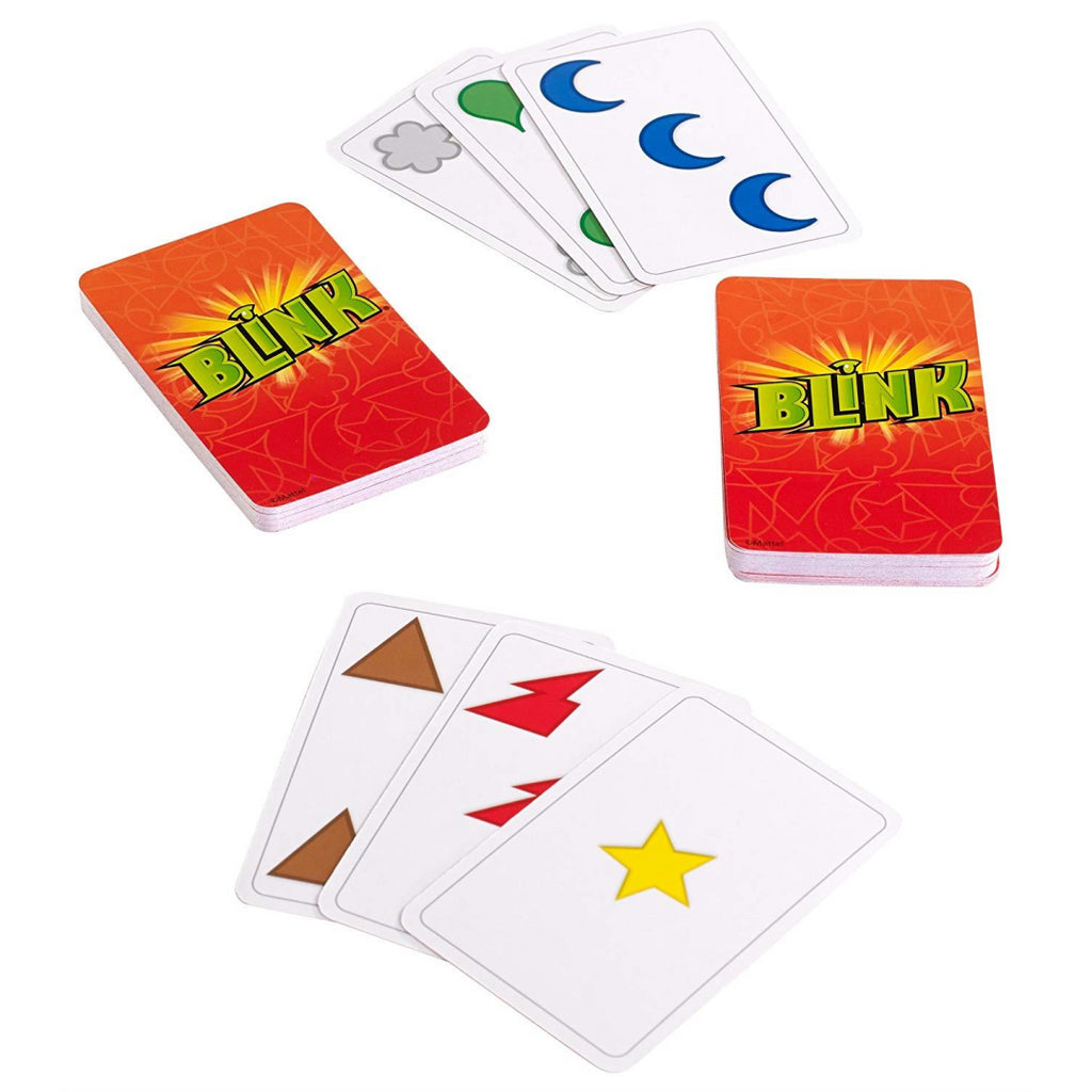 Mattel Blink Fast Paced Card Game - Maqio