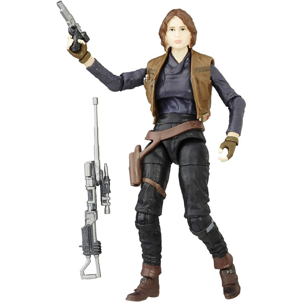 Star Wars The Black Series 10cm Figure - Sergeant Jyn Erso - Maqio
