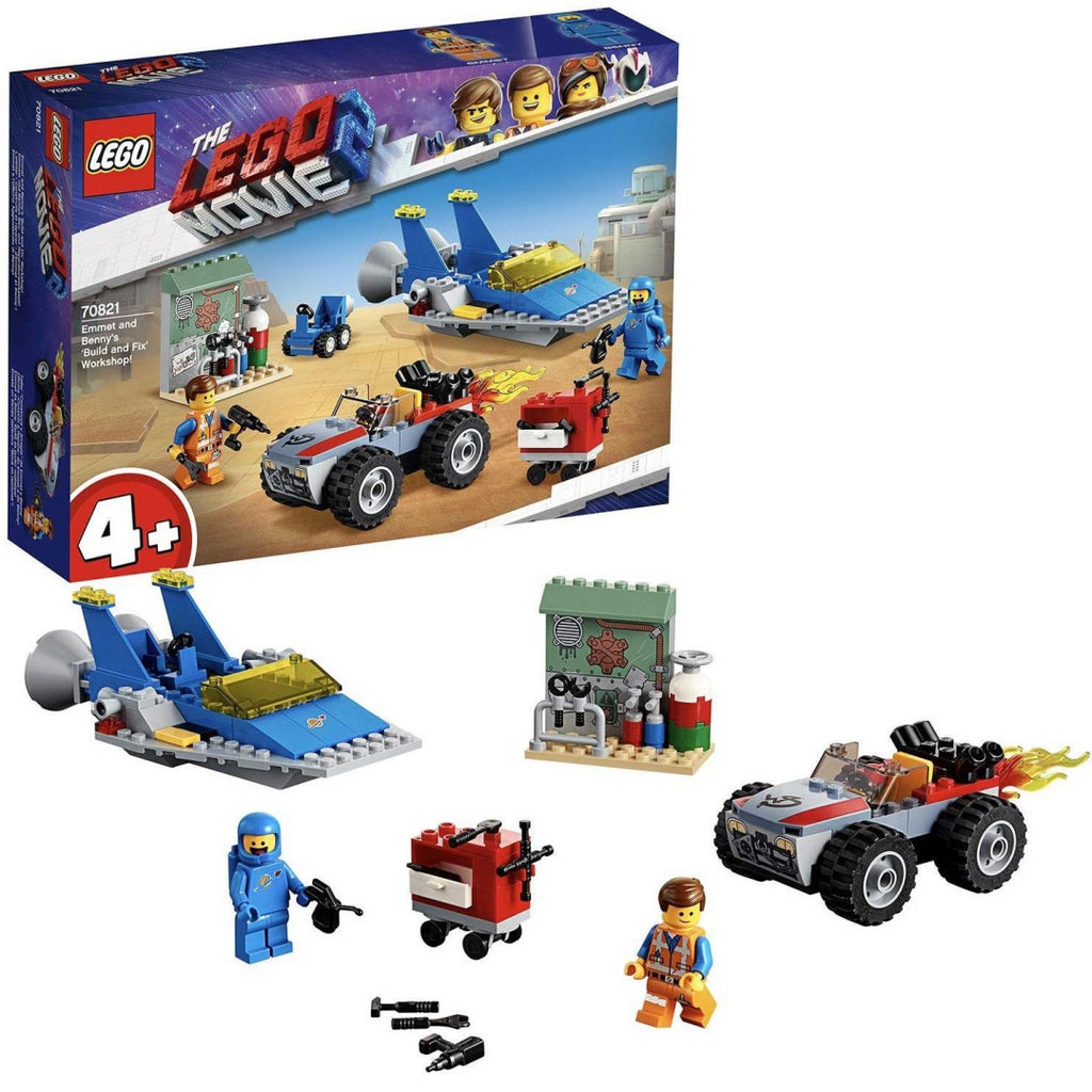 LEGO Movie 2 - 70821 Emmet & Benny's 'Build and Fix' Workshop! - Maqio