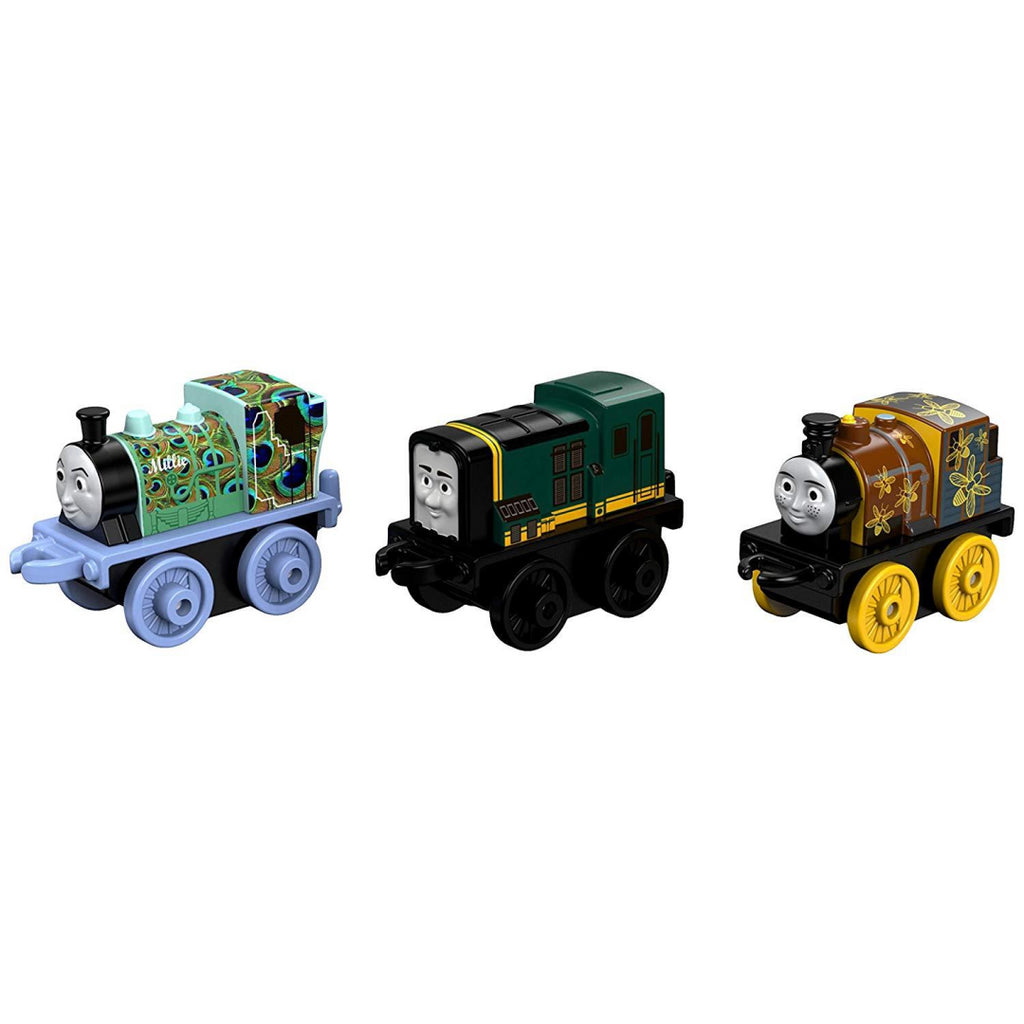 Thomas & Friends Minis DWG17 3 Pack Night Time Dash, Animal Millie, Classic Paxt - Maqio