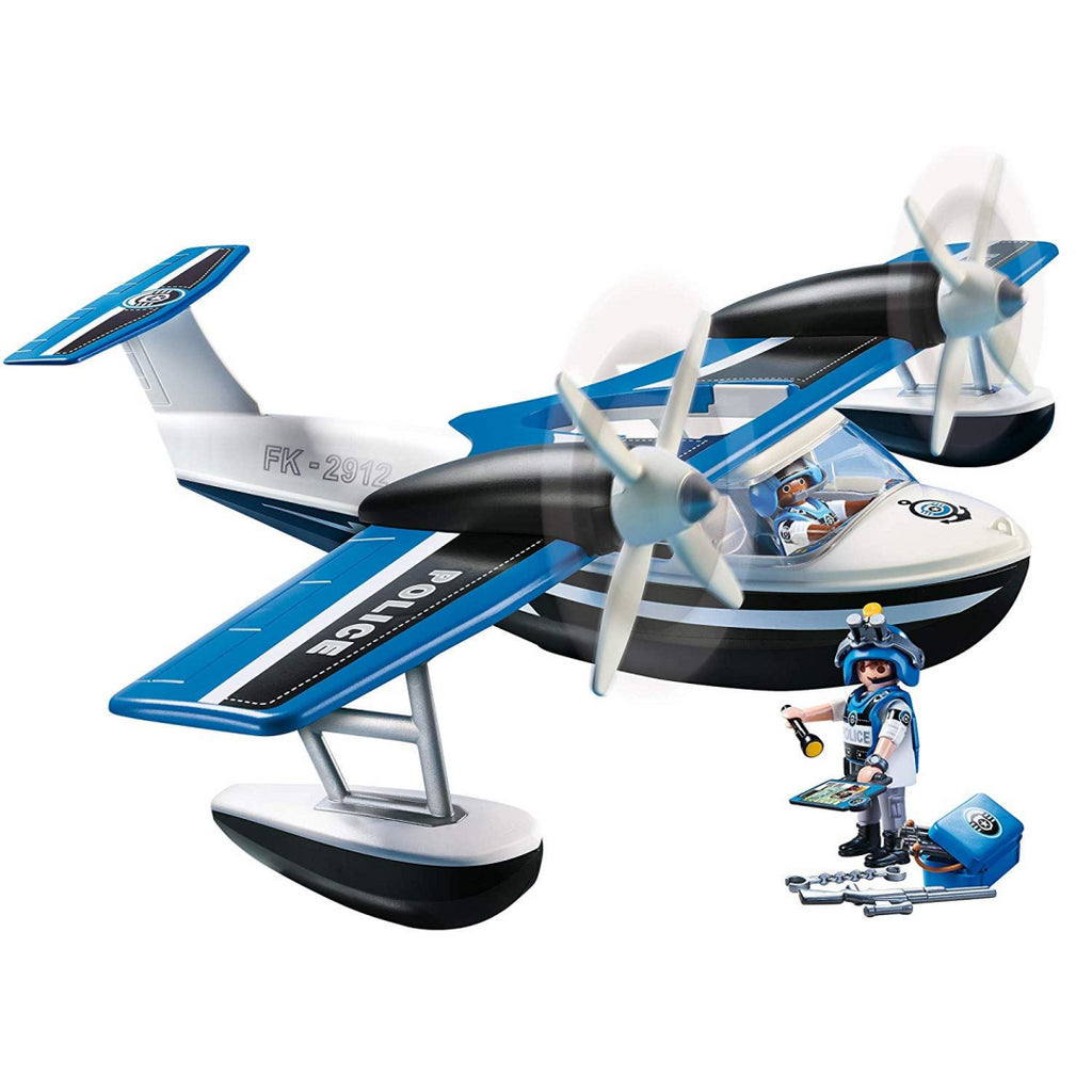 Playmobil 9436 Action Floating Police Seaplane, Various - Maqio