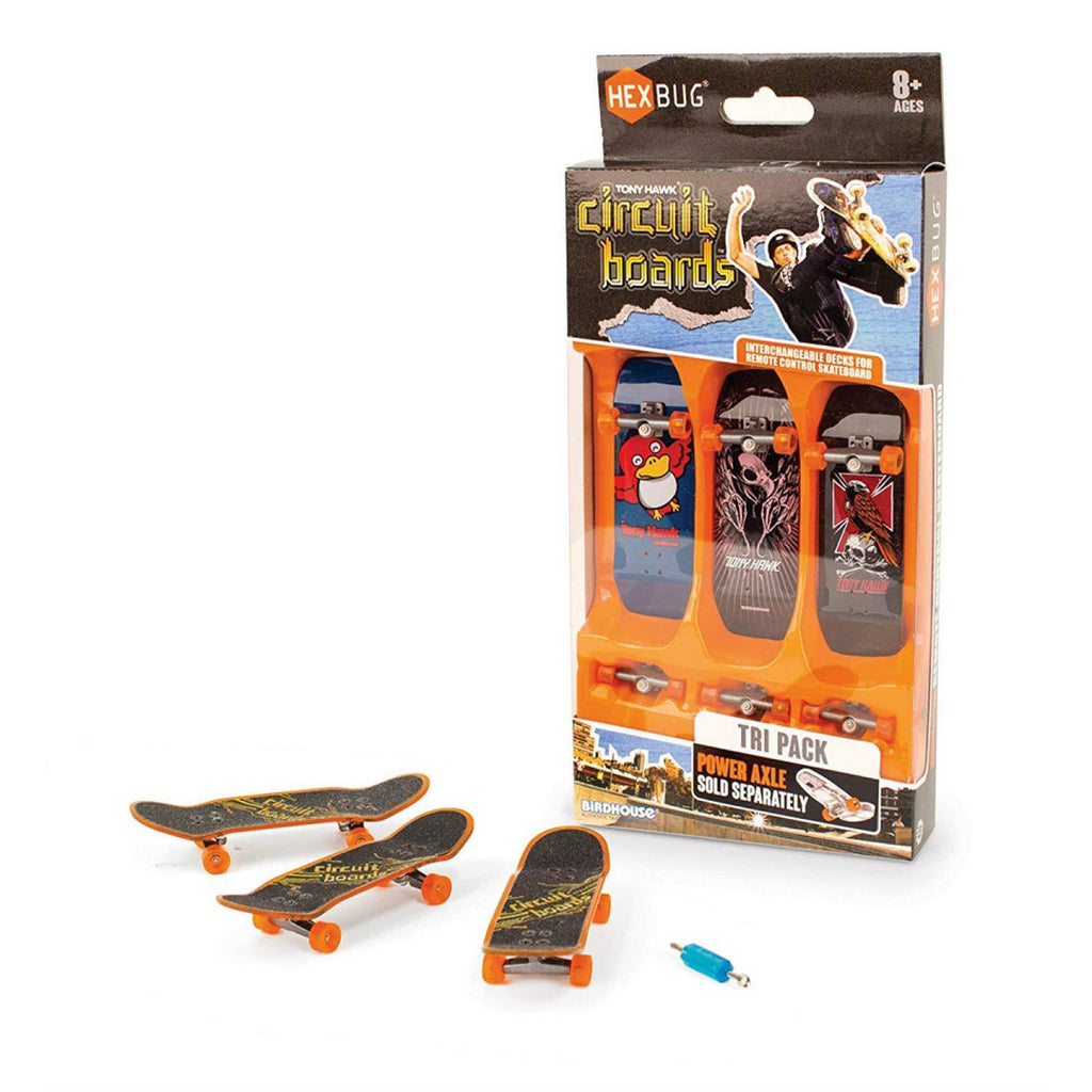 Tony Hawk Circuit Board 3 pack by HEXBUG - Maqio
