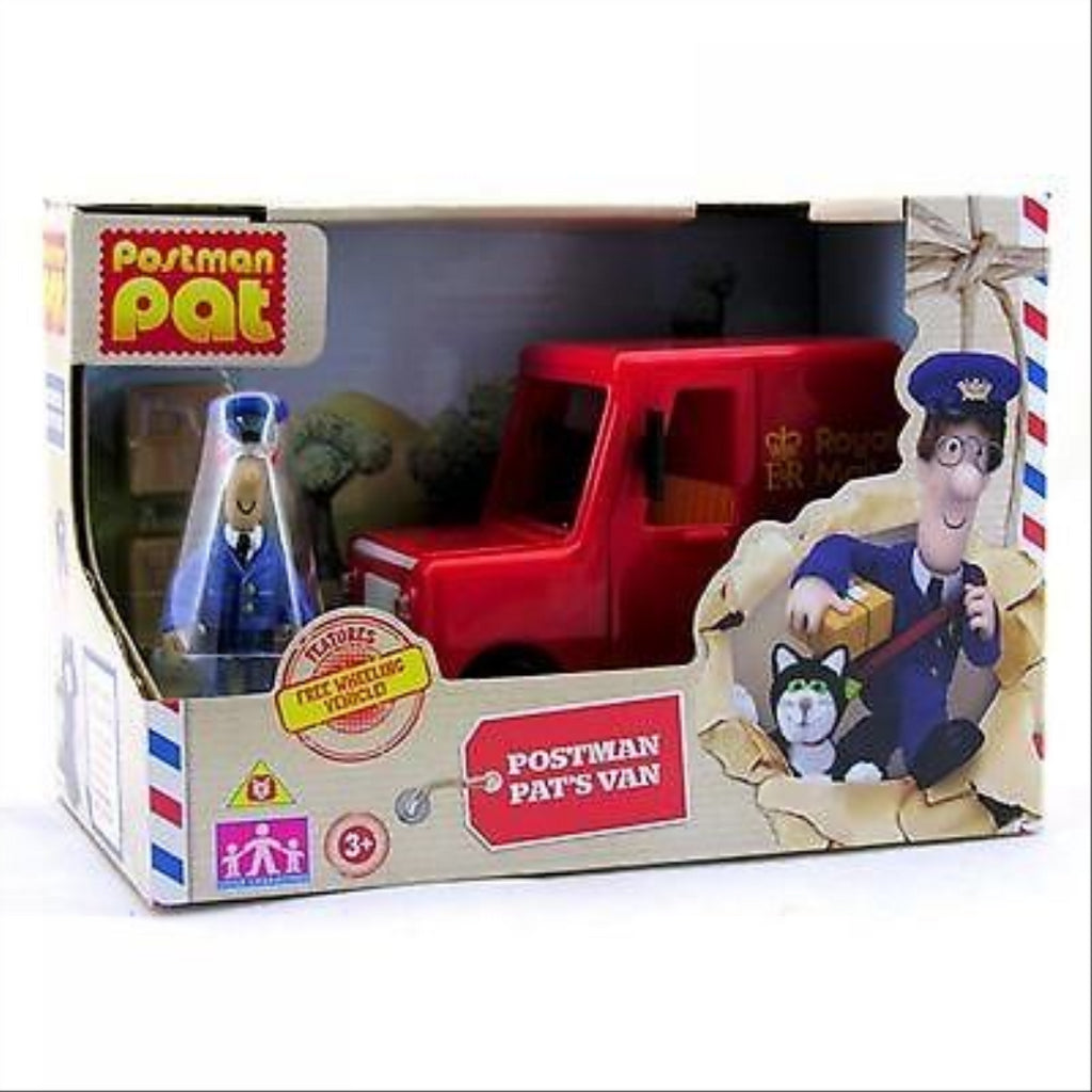 Postman Pat's Van and Collectible Toy Figure Playset - Maqio