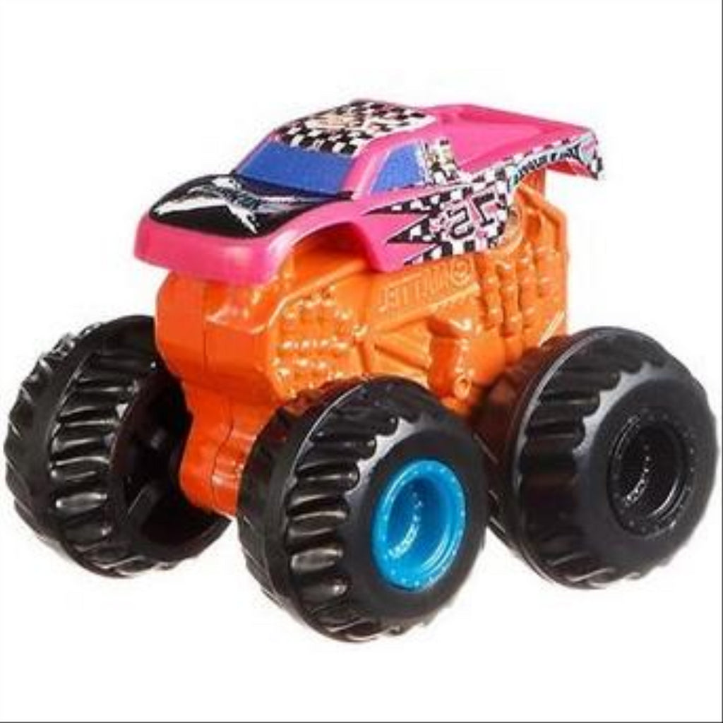 Hot Wheels GBR24 Monster Trucks Series 2 MINIS Set of 10 Vehicles - Maqio