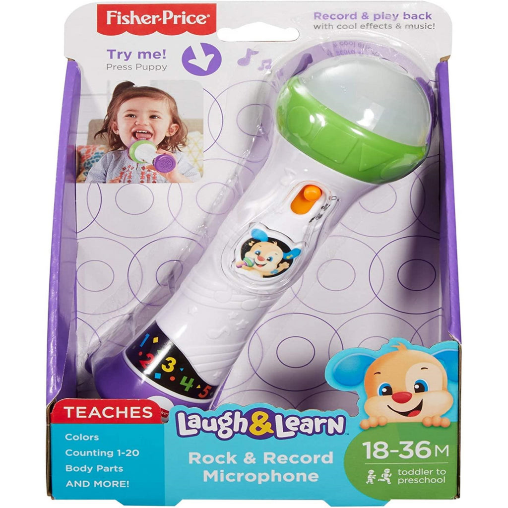 Fisher-Price Rock and Record Microphone FBP30 - Maqio