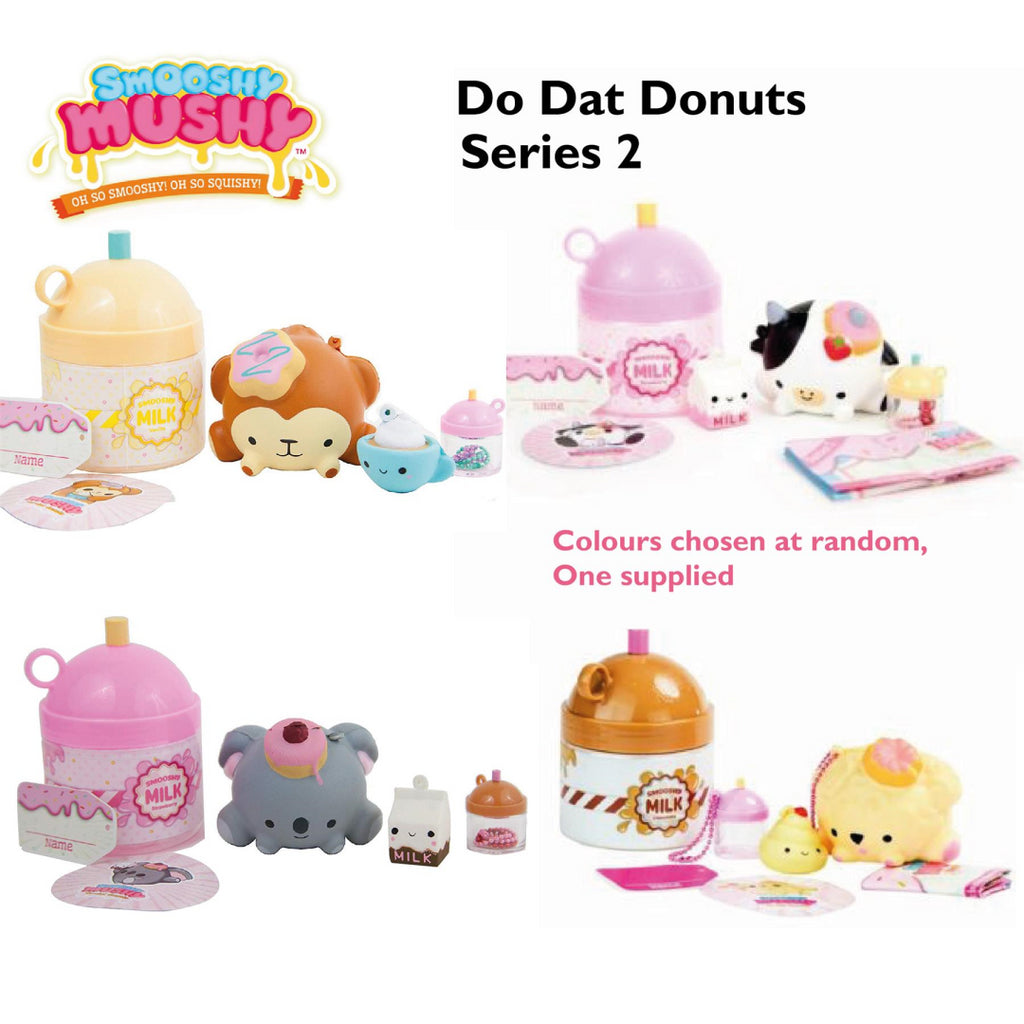 Smooshy Mushy Series 2 Do-Dat Donuts Pet Squishy Toy 80714 - Maqio