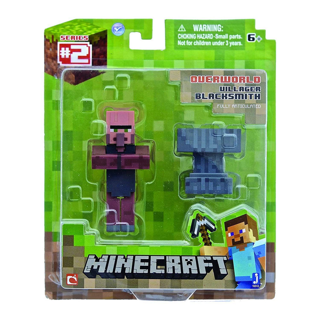 Minecraft 3-inch Villager Action Figure - Maqio