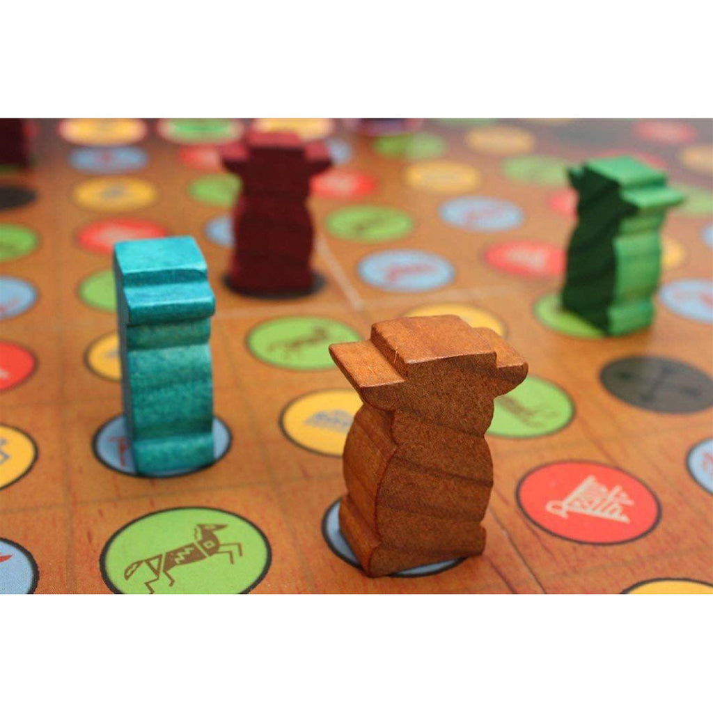 Tactic Games - 53690 Family Strategy Totem Game Toy - Maqio