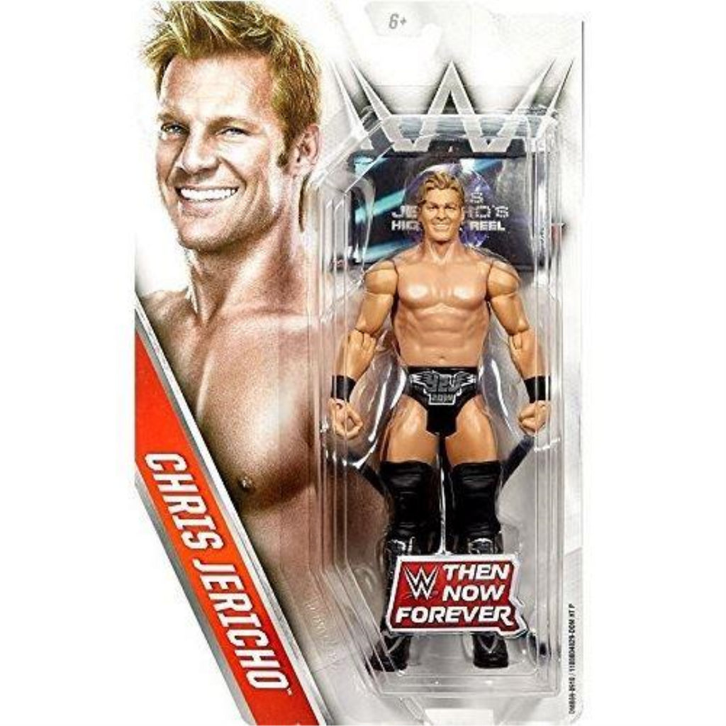 Mattel WWE DMB69 Chris Jericho Then Now Forever Wrestling 6 Inch Action Figure - Maqio