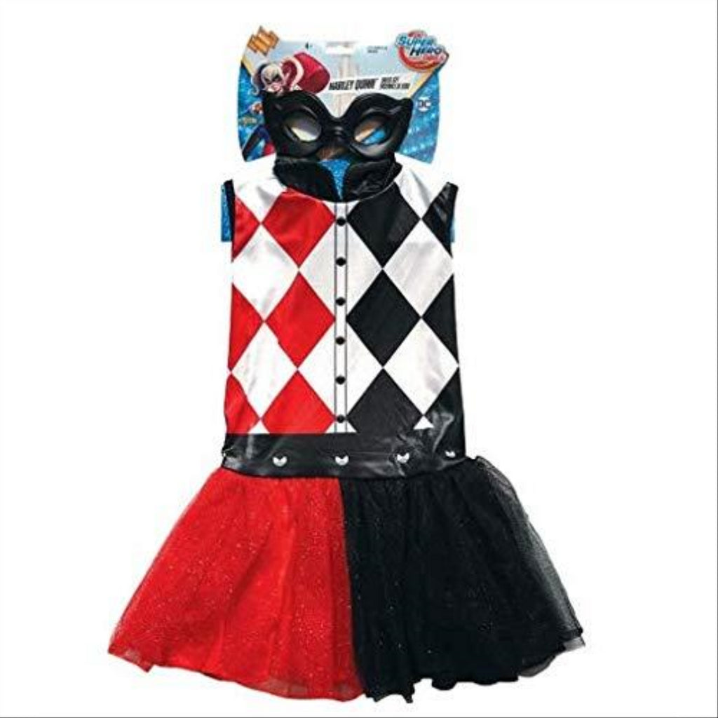 Rubie's 31975 DC Harley Quinn Fancy Dress (MEDIUM 4-6) - Maqio