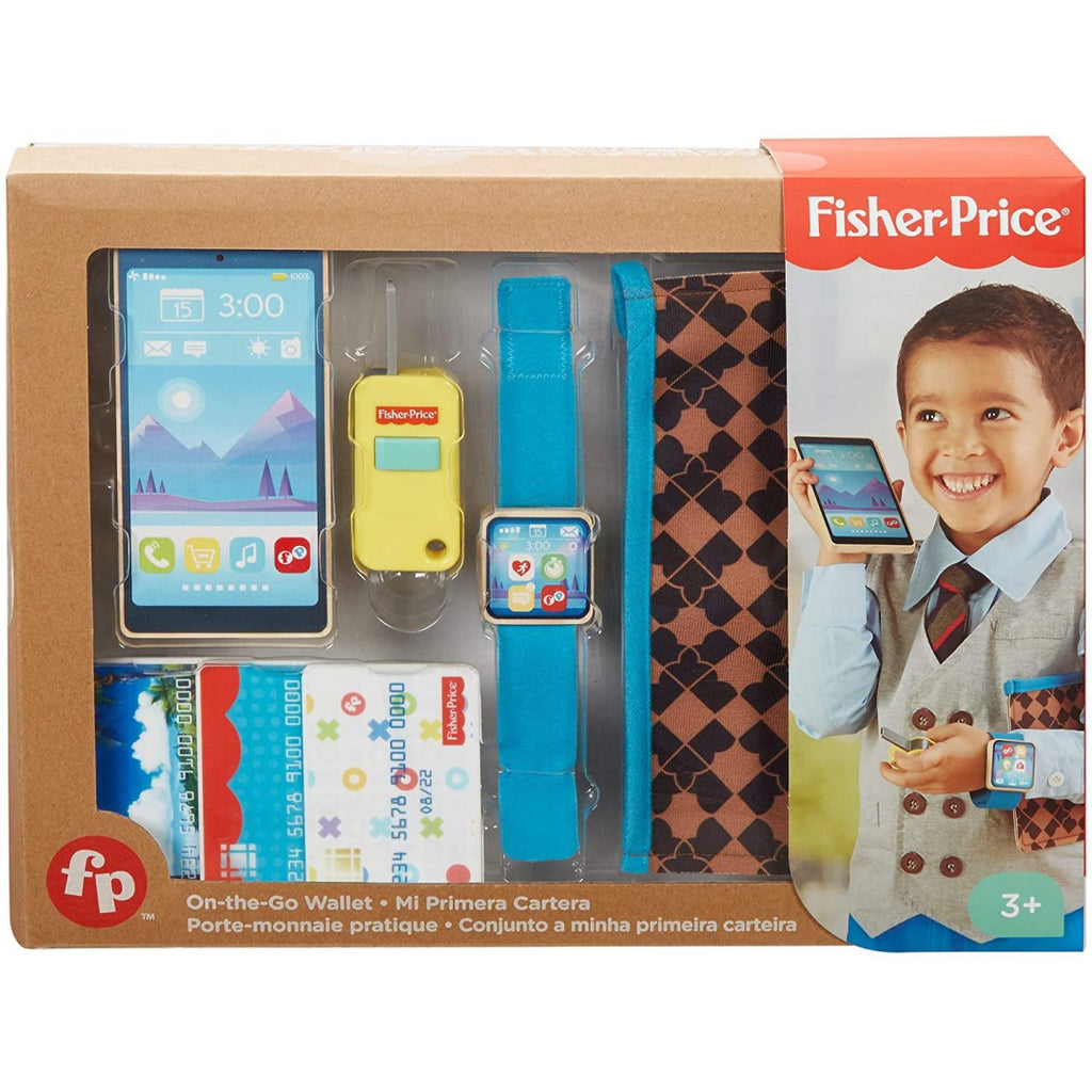 Fisher-Price Travel Tote On the Go Wallet GGT58 - Maqio