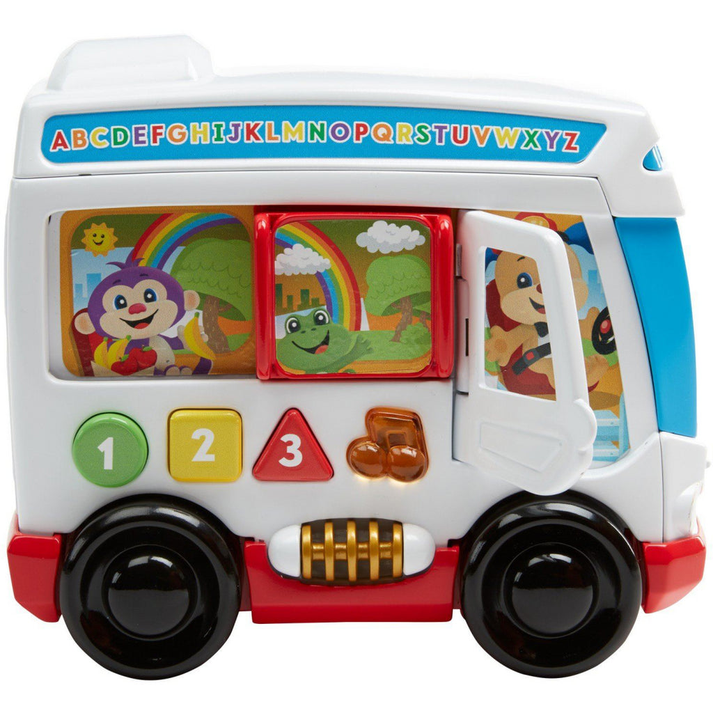 Fisher Price Laugh & Learn Around Town Bus - Maqio