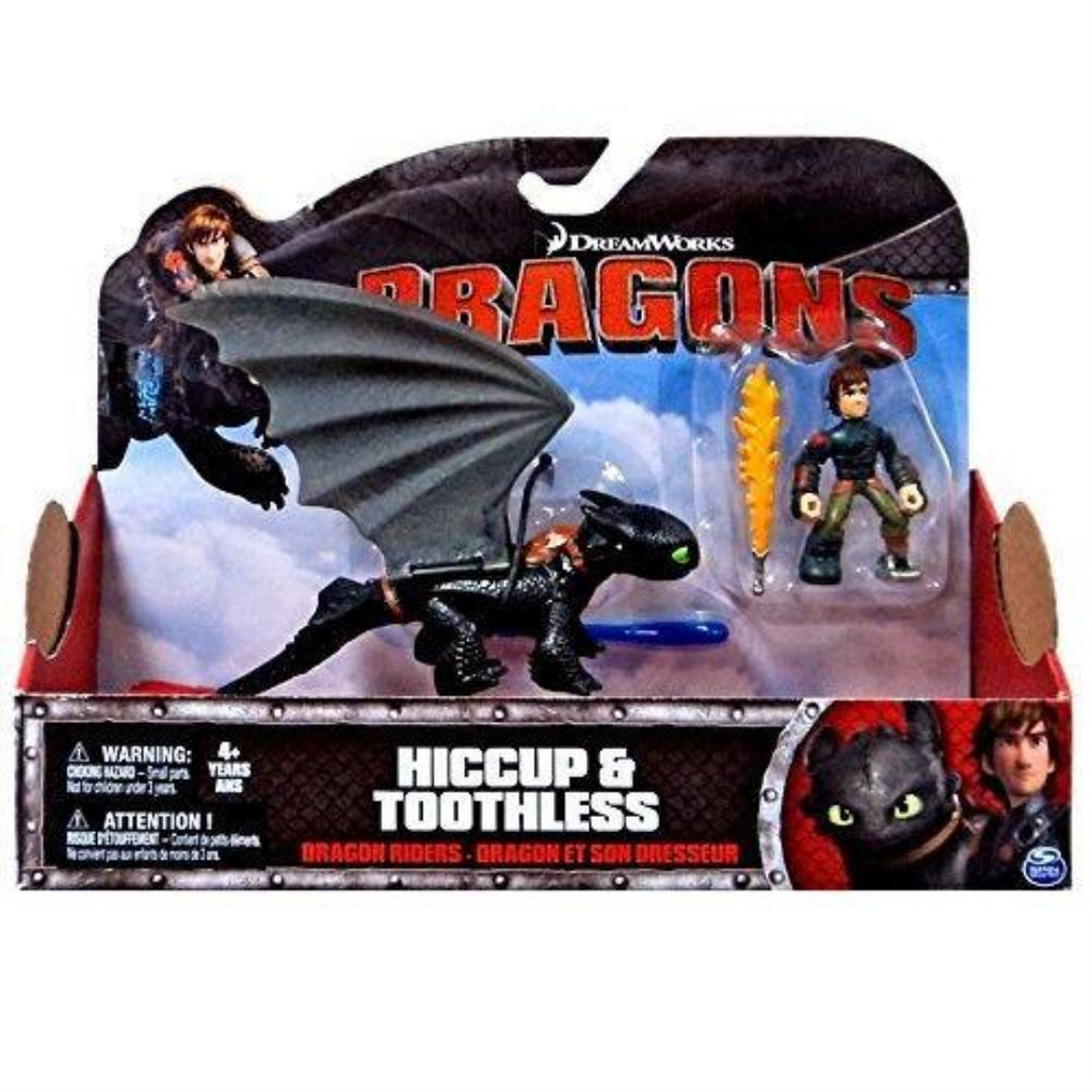 DreamWorks Dragons: Dragon Riders Hiccup and Toothless RED TAIL - Maqio