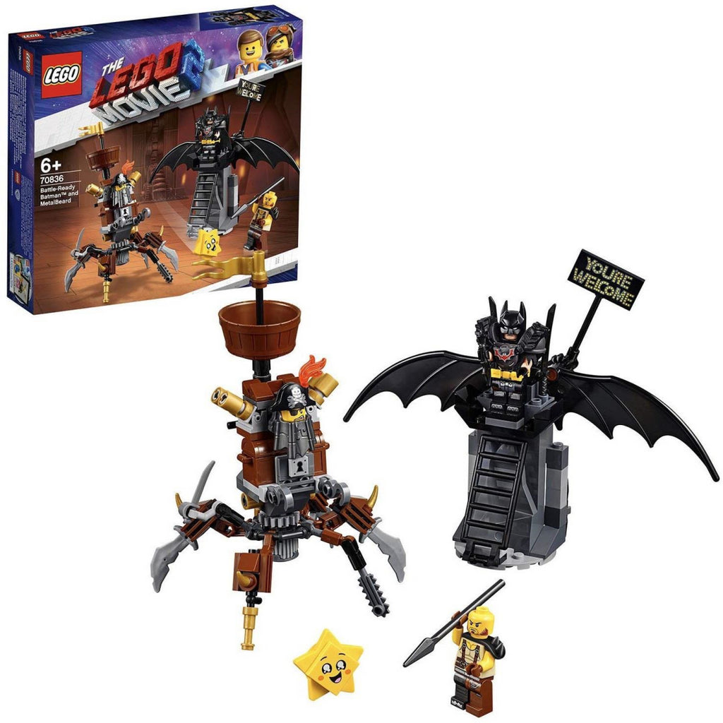 LEGO Movie 2 - 70836 Battle-Ready Batman & Metalbeard - Maqio