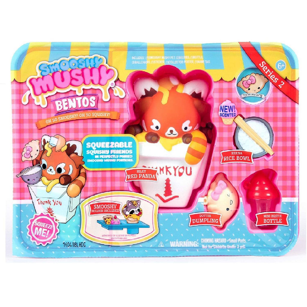 Smooshy Mushy Bento Box Series 2 - RILEY RED PANDA - Maqio