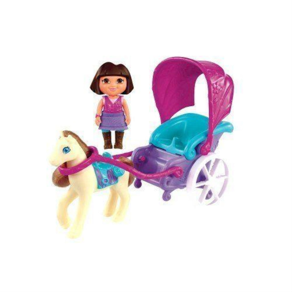 Dora the Explorer Pony Carriage Adventure Playset - Maqio