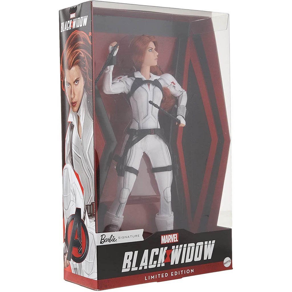 Barbie Signature Marvel Black Widow Limited Edition Collector's Doll GHT82 - Maqio